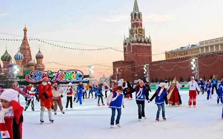 Список бесплатных катков в Москве 2018-2019, с прокатом коньков