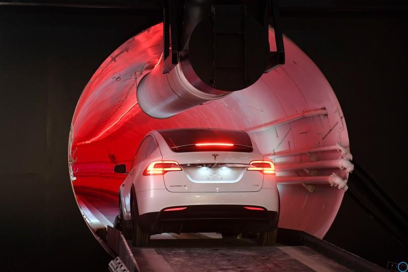Илон Маск: первый скоростной тоннель: тестовый запуск, Лос-Анджелес