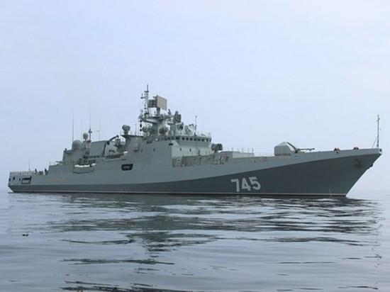 Приход фрегата РФ в Азов — может это начало Третьей мировой войны