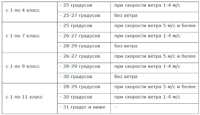 25.12.2018: отмена занятий в школах Челябинска, 2 смена