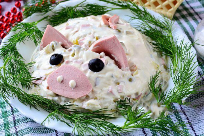 Что приготовить на Новогодний стол в год свиньи 2019