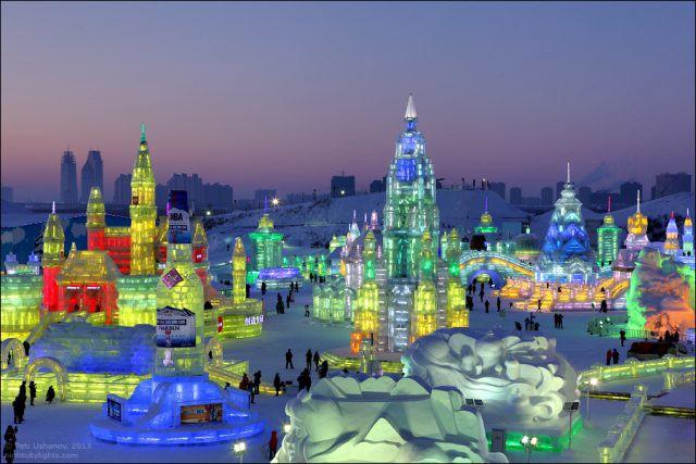 Зимний туризм в Китае становится всё популярнее