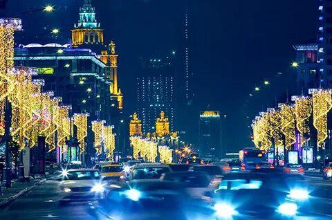 Список перекрытия улиц в Москве 29 декабря 2018