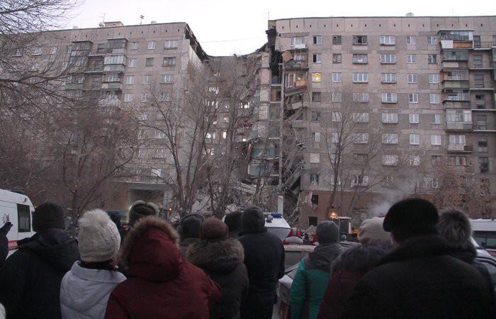 Сегодня 31.12.2018 взрыв газа в Магнитогорске — свежие новости, число жертв, фото, видео