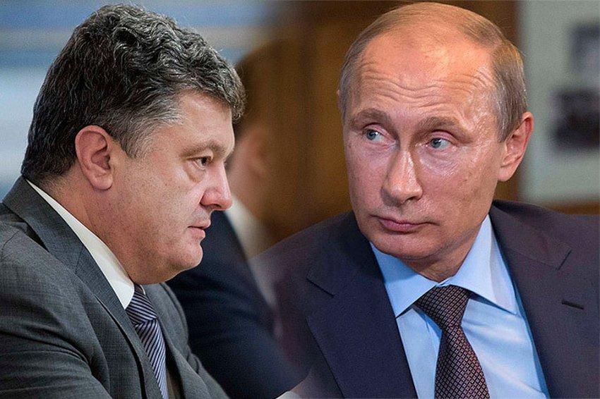 Германия призвала Путина и Порошенко к примирению
