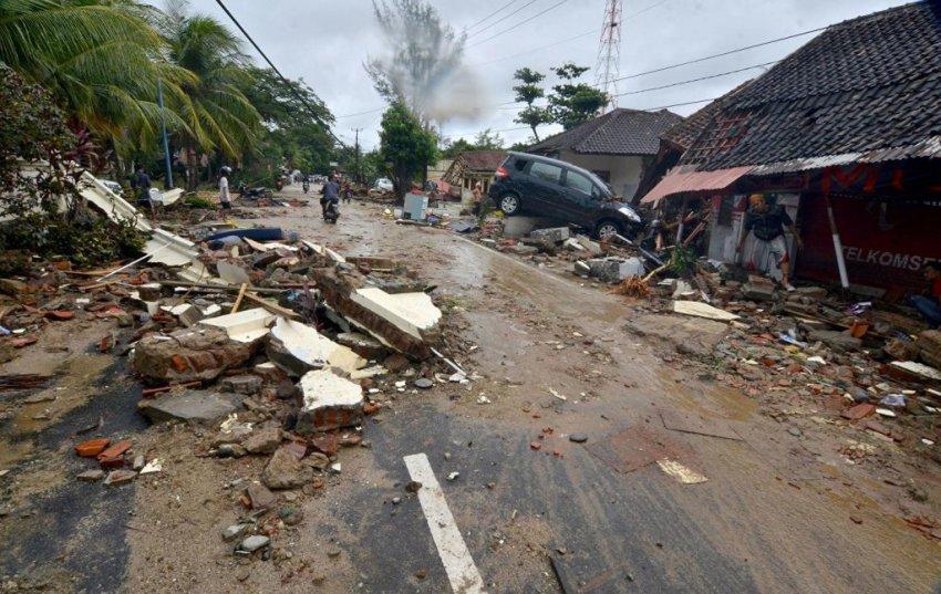 Цунами в Индонезии 2018 — последствия, фото, видео, последние новости