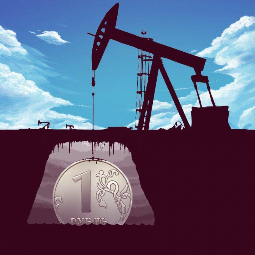 Курс рубля зависит от цен на нефть, заявили российские экономисты