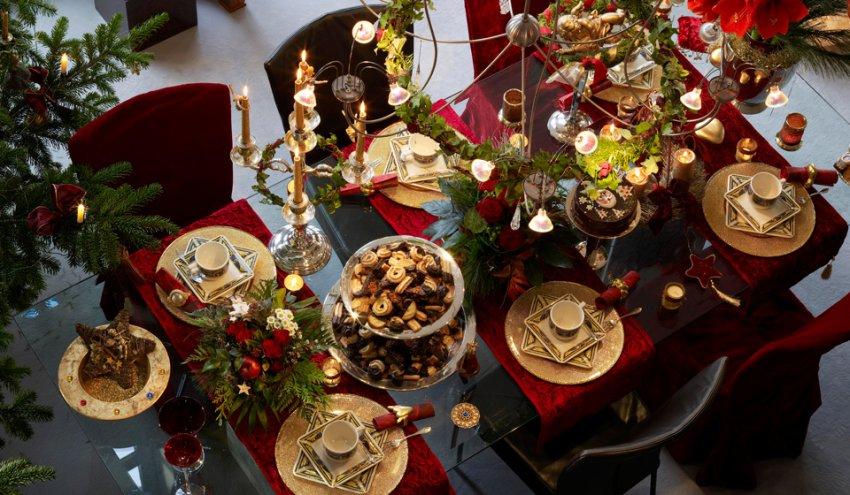 Как украсить стол на Новый год 2019 своими руками