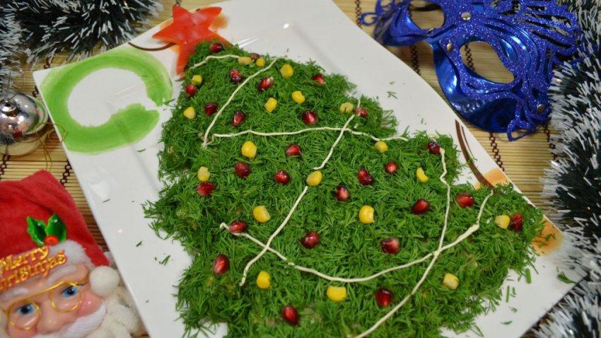 Салаты на Новый год 2019 год Желтой Земляной Свиньи (Кабана), простые и вкусные рецепты