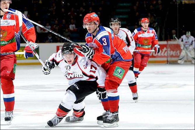 Сборная России победила Канаду на МЧМ-2019