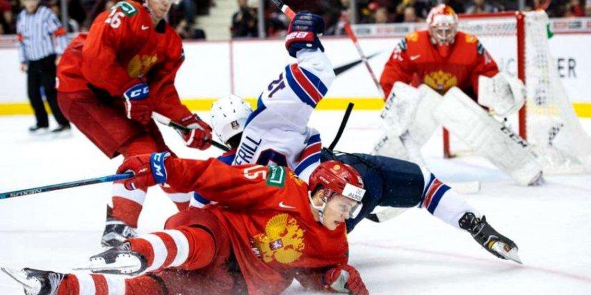 Молодежная сборная России завоевала «бронзу» на чемпионате мира по хоккею