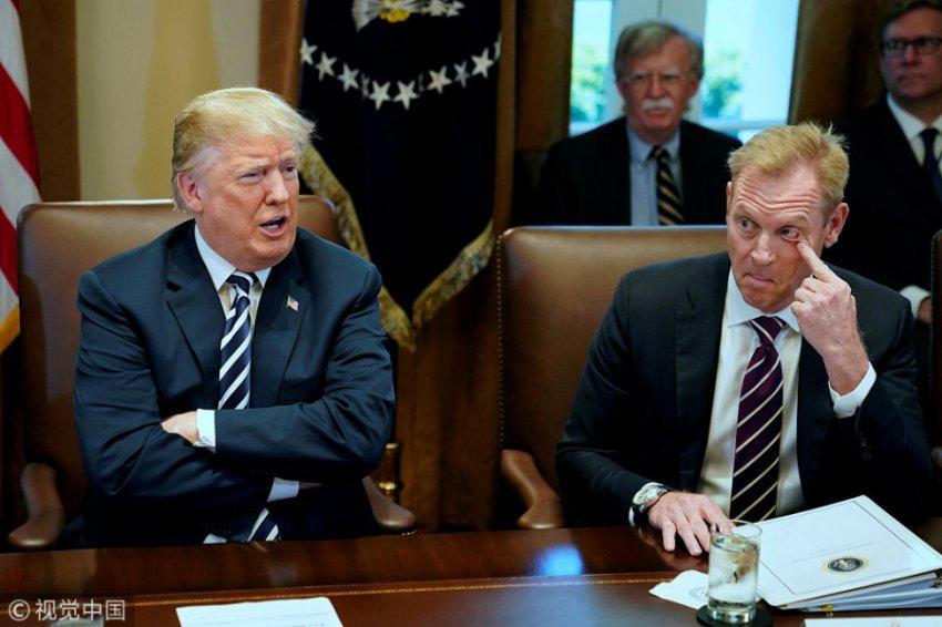 Патрик Шанахан официально вступил в должность министра обороны США
