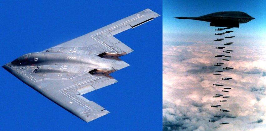 Новогодняя шутка с американским стратегическим бомбардировщиком B-2 вызвало шквал критики в соцсетях