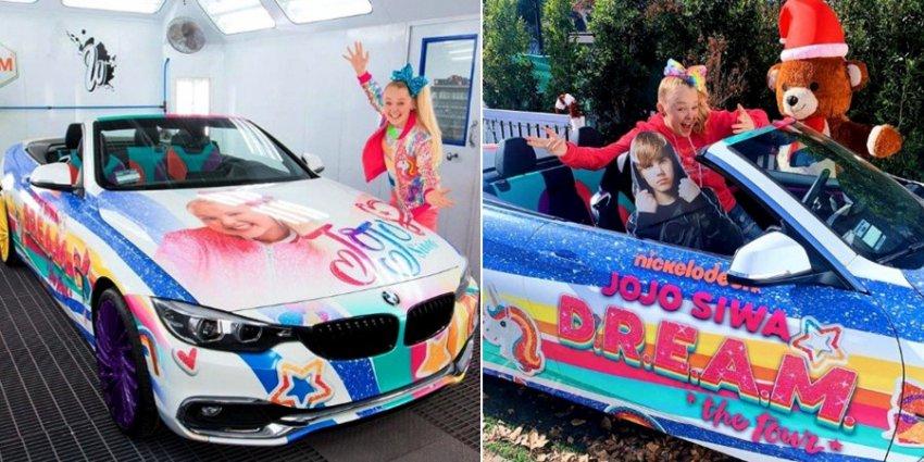 Джастин Бибер раскритиковал «рождественский» BMW, подаренный 15-летней певице Джоджо Сиве родителями