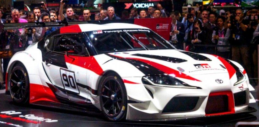 Toyota допустила утечку в Сеть изображений официальной Supra A-90