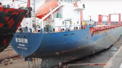 Одиннадцать российских моряков задержаны в Кабо-Верде