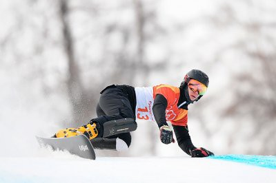 Российский сноубордист Дмитрий Логинов выиграл чемпионат мира