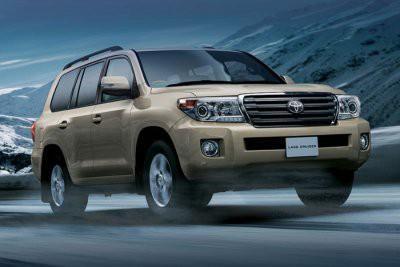Toyota презентует новый Land Cruiser на автосалоне в Токио