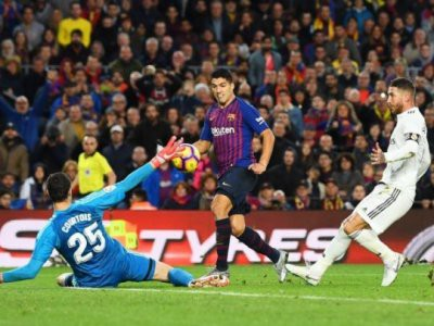Барселона реал мадрид примой эфир