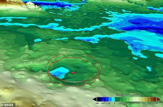 В Гренландии нашли еще один гигантский кратер