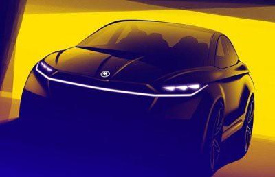 Skoda представила электрическое кросс-купе Vision iV
