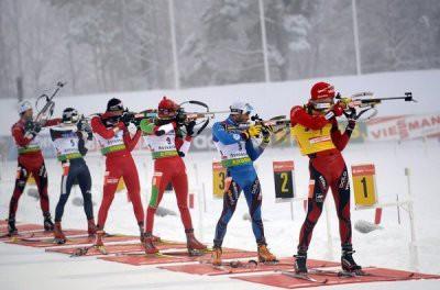 Логинов финишировал седьмым в гонке преследования восьмого этапа КМ по биатлону