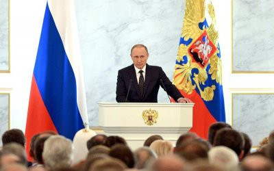 Послание президента РФ Владимира Путина Федеральному собранию состоится 20 февраля