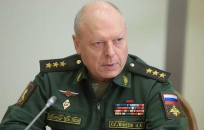 Главком Сухопутных войск Салюков получил звание генерала армии