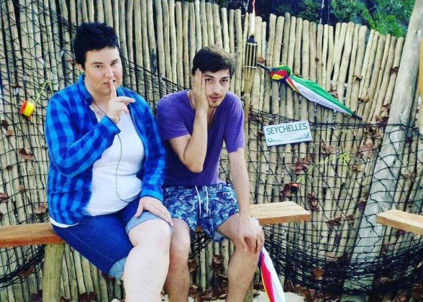 Спустя месяц после свадьбы, Саша Черно и Иосиф Оганесян объявили о расставании