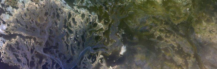 «Роскосмос» показал фото древней реки на Марсе