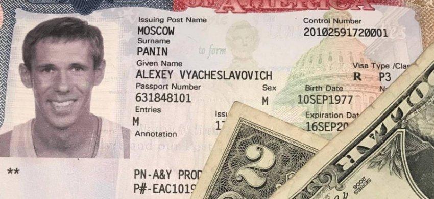 Алексей Панин попрощался с Россией и улетел в США
