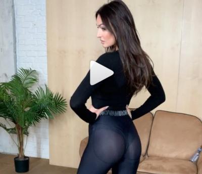 Алена Водонаева показала жирную попу