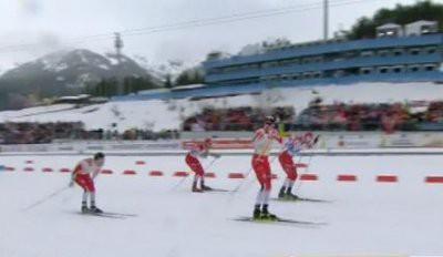 Россия стала второй в мужской эстафете на Чемпионате мира по лыжам