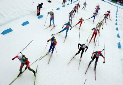 Российские биатлонистки заняли весь пьедестал почета на Универсиаде