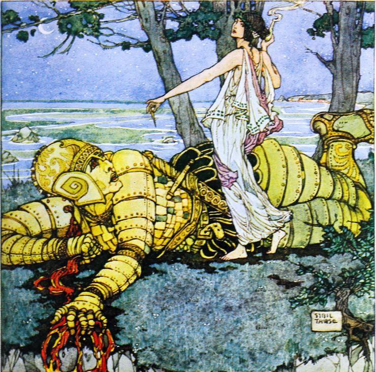 Древнегреческий робот Талос и искусственная женщина Пандора