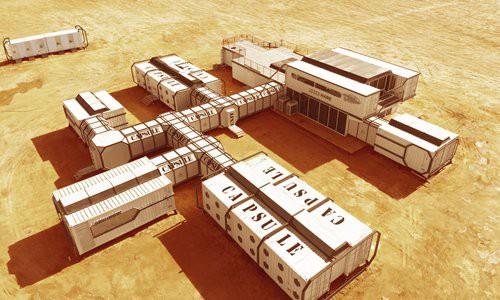 Китай построил в пустыне марсианскую базу