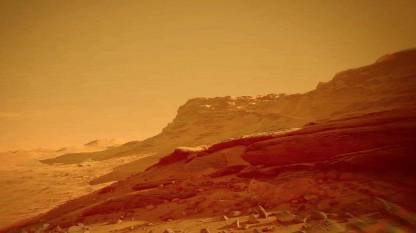 На снимках Марса обнаружили человекоподобную мумию