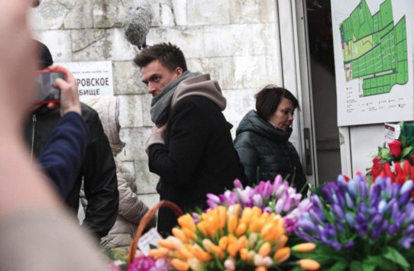 В Москве проходит церемония прощания с Юлией Началовой