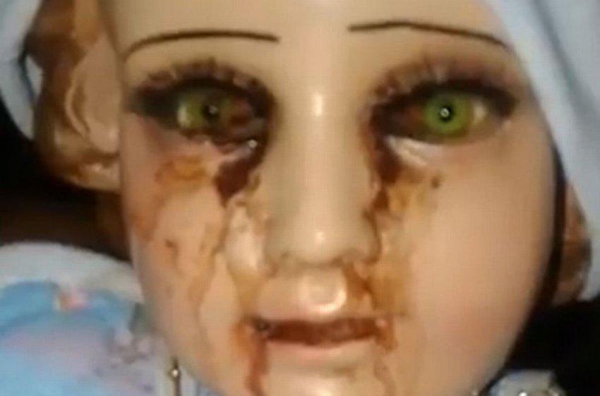 В Акапулько заплакала кровью статуя младенца Иисуса