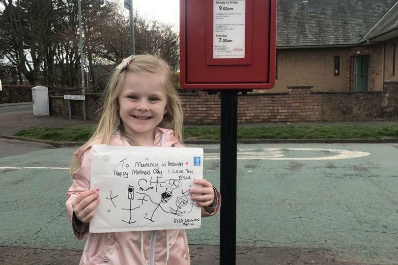Девочка написала письмо для умершей мамы и, однажды почтальон принес ответ