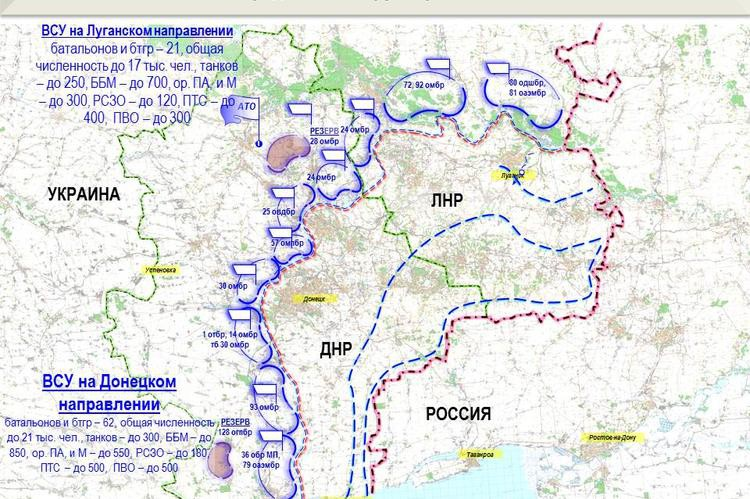 Киев готовит новую карательную операцию на Донбассе