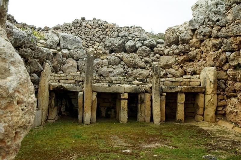 Мегалитические храмы мальтийской культуры