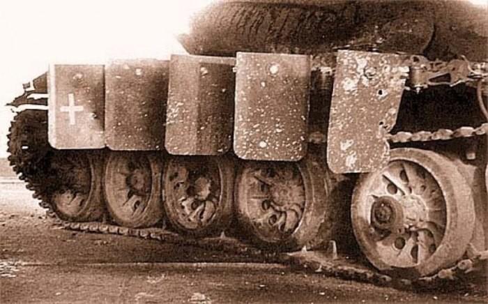 «Зонтик» - военная защита советского танка от вражеских ударов