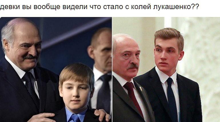 Народ восхищён внешностью младшего сына Лукашенко