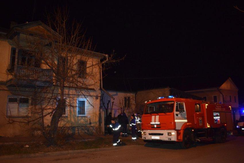 В Кисловодске 07.04.2019 года в 21:00 произошло возгорание