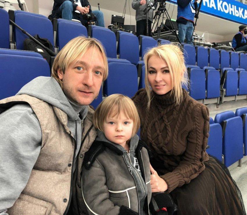 Сыну Рудковской и Плющенко запретили выступать под песню Майкла Джексона