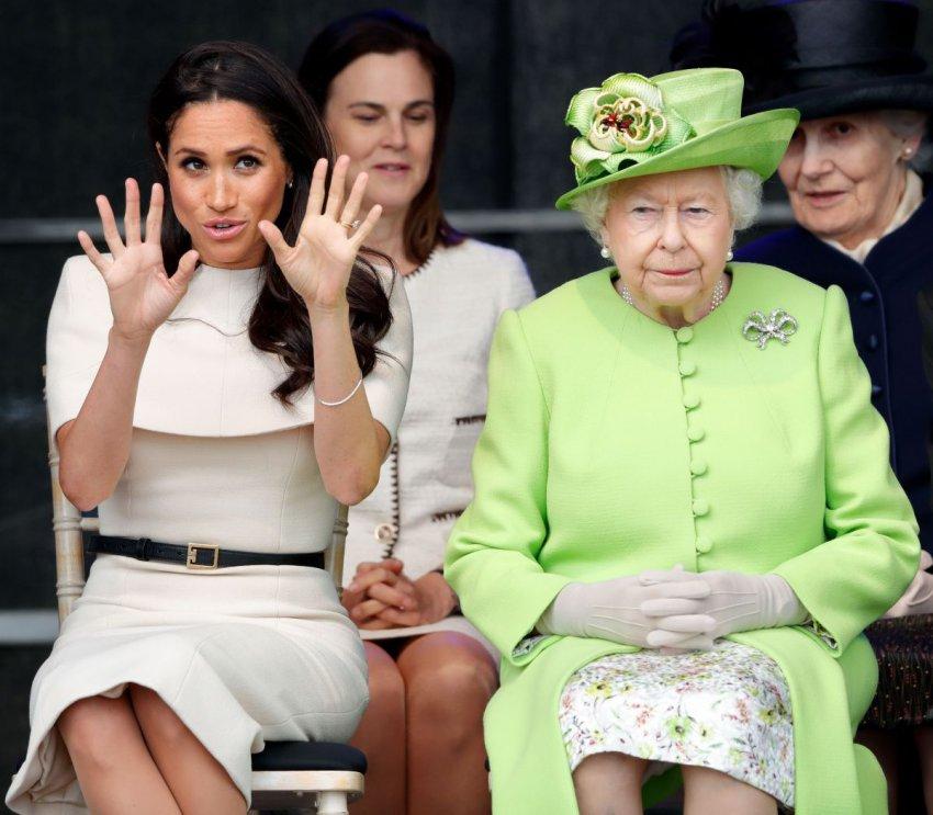 Маркл идет на конфликт с Елизаветой II, отказавшись от традиции делать фото с новорожденным у больницы