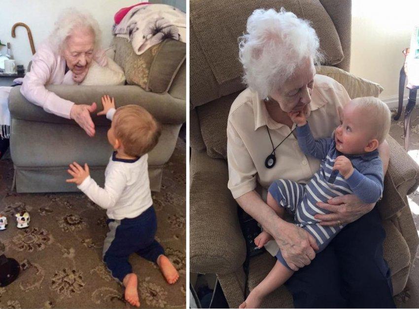 Призрак бабушки пришел успокоить внука