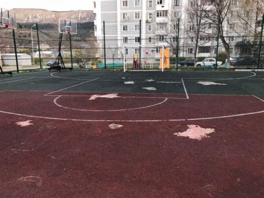 Состояние спортивных площадок в Кисловодске оставляет желать лучшего