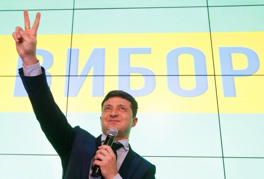 Выборы на Украине: Порошенко разгромлен, Зеленский набирает 73% голосов